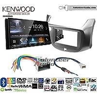 Volunteer Audio Kenwood DDX9904S Double Din Radio Install Kit with Apple CarPlay Android Auto Bluetooth Fits 2009-2014 Honda Fit