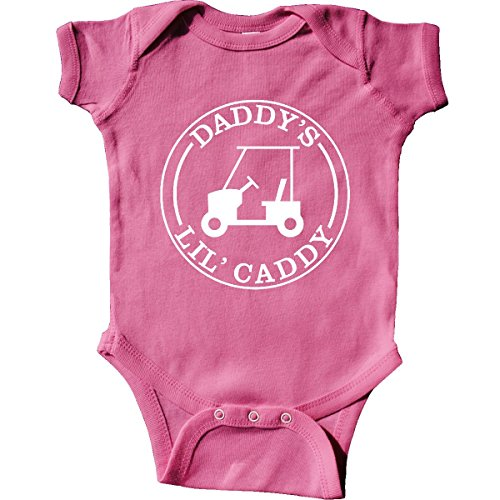 inktastic Daddy's LIL Caddy Infant Creeper 6 Months (Father Golf Shirt)