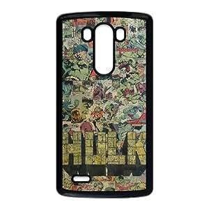 LG G3 Cell Phone Case Black Hulk Avengers ckzb