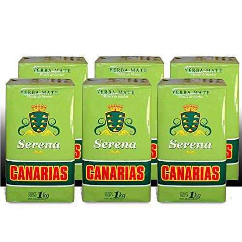 Canarias Serena Yerba Mate 6 Kilos - 13.5 Lbs Free Shipping by Canarias
