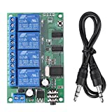 AD22B04 12V 4 Channel DTMF Tone Signal Decoder Relay Phone Remote Control PLC