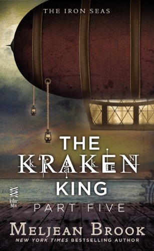 book cover of The Kraken King and the Iron Heart