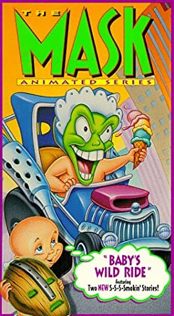 amazon com the mask animated series baby s wild ride vhs voices