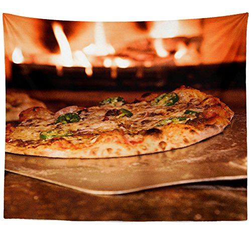 Westlake Art - Food Pizza - Wall Hanging Tapestry - Picture Photography Artwork Home Decor Living Room - 68x80 Inch (7DBC4)