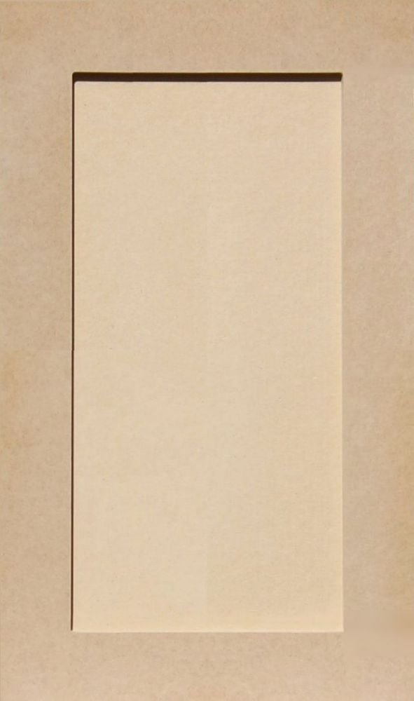 33H x 13W Unfinished Shaker Cabinet Doors in MDF by Kendor