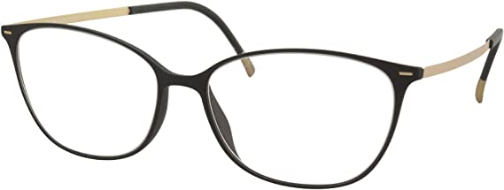 Silhouette Eyeglasses Urban-Lite 1590 9030 Black/Rose Gold Optical Frame