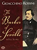 img - for The Barber of Seville in Full Score (Dover Music Scores) book / textbook / text book