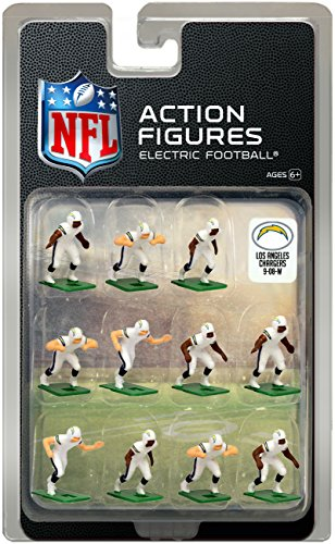 Chargers Uniform Diego San (Los Angeles Chargers Away Uniform NFL Action Figure Set)
