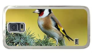 Cheap Samsung i9600 case cassette cover Bird on the pine tree PC Transparent for Samsung S5,Samsung Galaxy S5,Samsung i9600