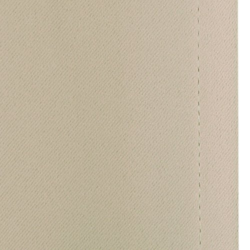 Deconovo Room Darkening Thermal Insulated Blackout Grommet Window Curtain Panel for Living Room, Beige,42x63-Inch,1 Panel by Deconovo (Image #5)'