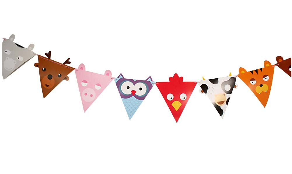 (Lovely Animal)Party Banners Party Decorations Room Decorations