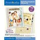 Printworks Digital Scrapbook/Calendar Kit 8.5 x 11