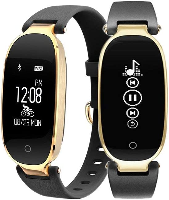 FociPow Fitness Tracker, Activity Tracker Watch with Heart Rate Monitor, Waterproof Smart Band with Step Counter, Calorie Counter, Pedometer Watch for Kids Women, Android iOS