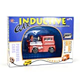 Autrix Magic Inductive Toy Mini Train Follow Any Drawn Line by Magic Pen with Battery Included