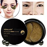 #8: Collagen Eye Mask, Black Pearl Collagen Eye Pads Eye Patch, Hydrogel Eye Patch for Relieving Dark Circle Puffiness Treatment Anti Wrinkle Moisturising Sleeping Gel Eye Patch (60 Sheet)