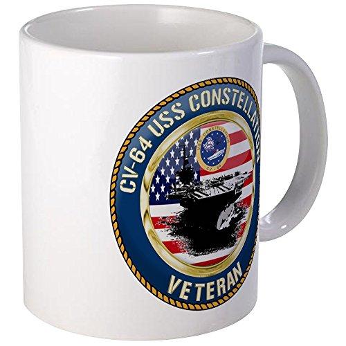 CafePress - CV-64 USS Constellation Mug - Unique Coffee Mug, Coffee Cup