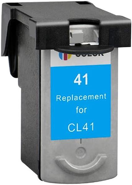 KA - Cartuchos de Tinta remanufacturados para Canon Pixma iP1200 iP1700 iP2200 iP2400 iP2500 iP2600 MP210 MP220 MX300 MX310 MultiPass 450 MP150 MP160, Color 1 Couleur: Amazon.es: Oficina y papelería