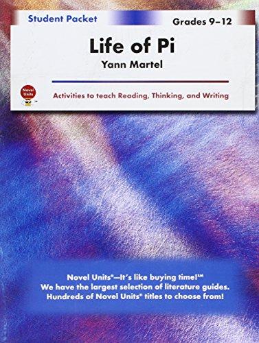 Life of Pi- Student Packet by Novel Units, Inc.