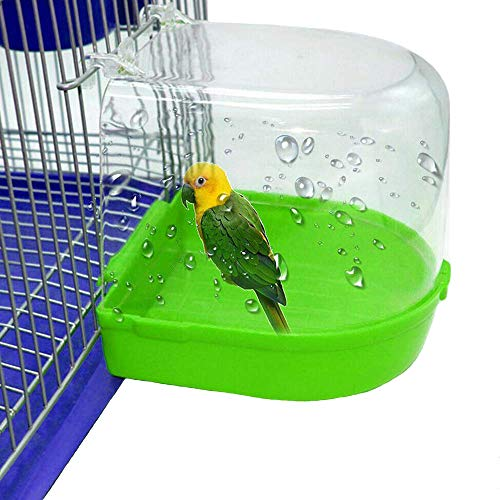 kathson Parrot Bath Box