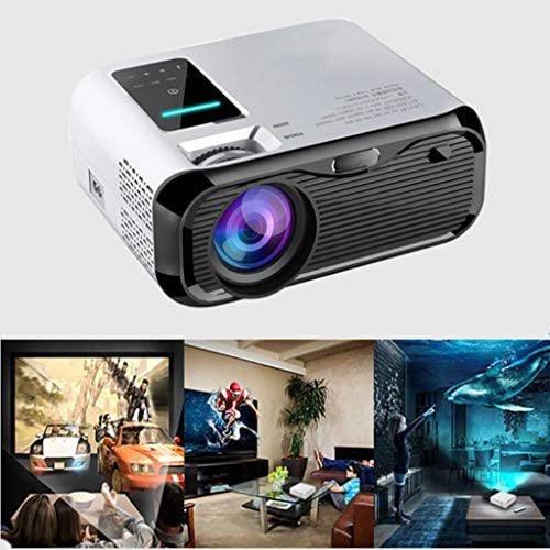 1080P LED Projector, HDMI Projector with Compatible TV Stick