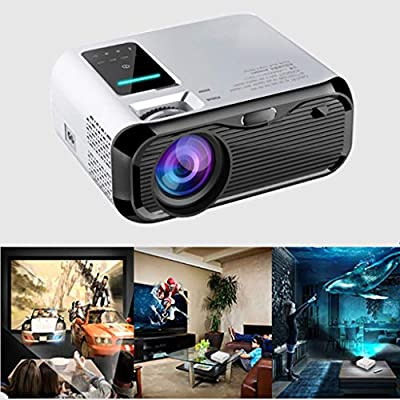 E500 3500 Lúmenes Wifi Android 9,0 Smart Mini Proyector LED ...