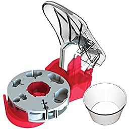 Pill Cutter With Self-Retracting Blade And Pill Catch Cup For Any Medication