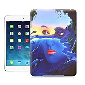 SIYJHO dolphin and beautiful girl picture of TUP new style scratch-proof covers for ipadmini
