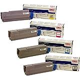 OKIdata C5500 High Yield Toner Cartridge Set