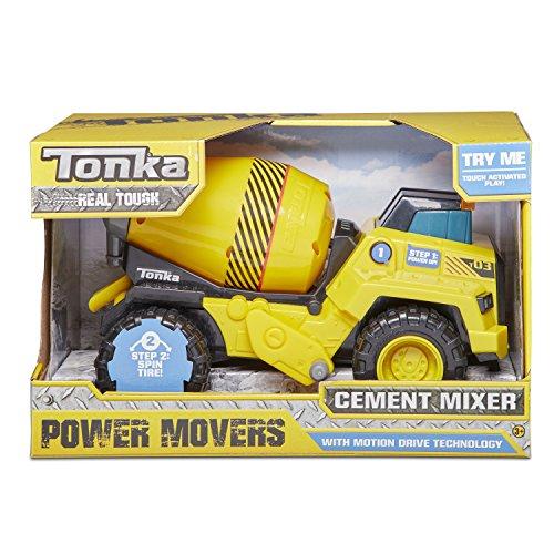 Tonka Power Movers Cement Mixer Toy Vehicle JungleDealsBlog.com