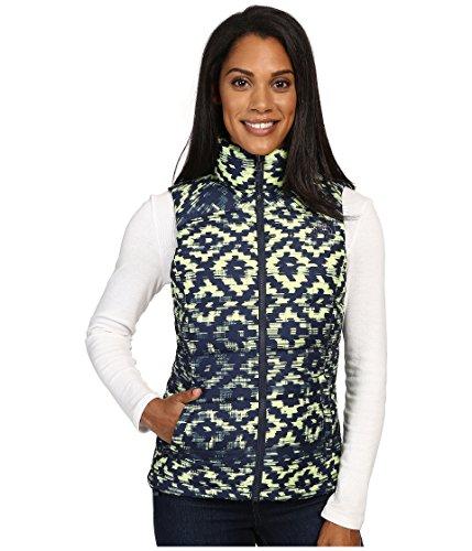 - The North Face Women's Nuptse 2 Vest, Cosmic Blue D-Kat Print MD