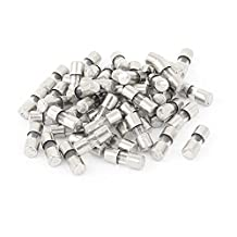 50pcs 10x4mm AC 250v 2A Slow Blow Acting Miniature Glass Fuse Tube