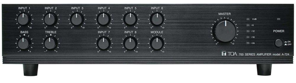 2. TOA A-724, 240 Watt Integrated Mixer Amplifier