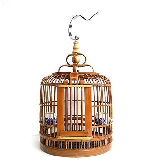 NBRTT Jaula de pájaros Nido para Mascotas de bambú Boutique ...