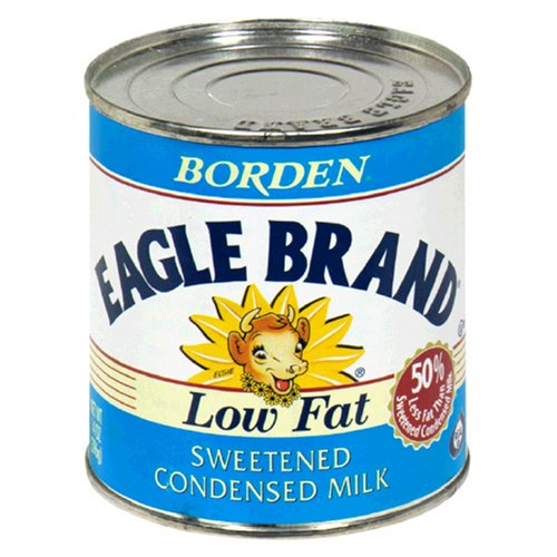 Eagle Brand Low Fat Condensed Milk, Sweetened, 14-Ounce C...