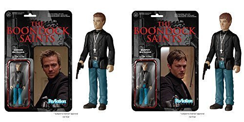 Boondock Saints Connor and Murphy MacManus ReAction 3 3/4-Inch Retro Action Figures Set of 2