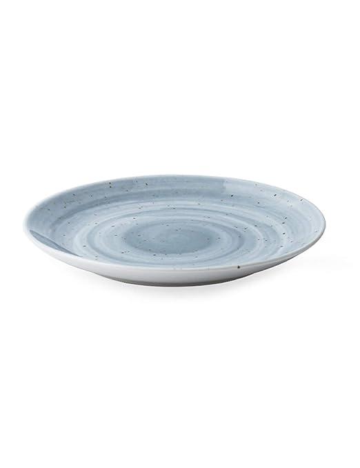 StudionFun Vajilla de cerámica nórdica, Disco de Porcelana ...