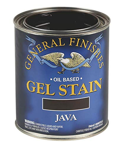 General Finishes Oil Base Gel Stain 1 Quart Java