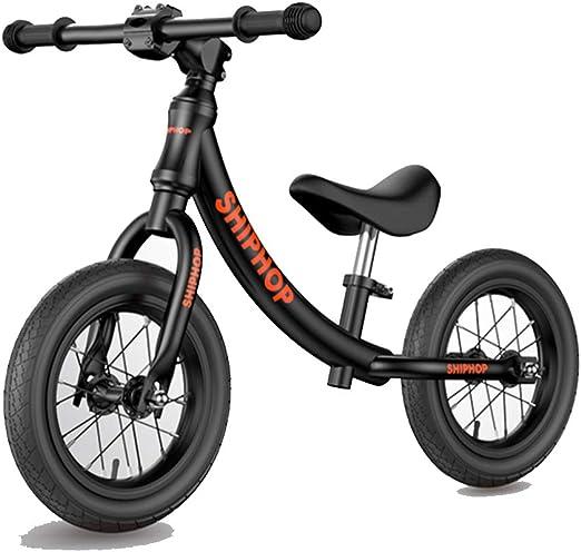 XBSD Bicicleta de Equilibrio de Aluminio, Bicicleta Ligera para niños sin Pedales, Manillar y Asiento Ajustables, adecuados para niños y niñas de 2 a 6 años.: Amazon.es: Hogar
