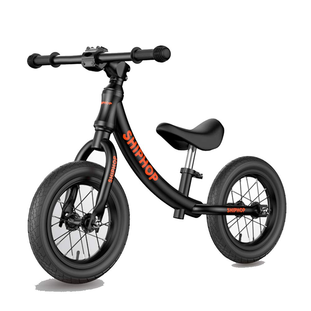 XBSD Aluminum Balance Bike,Lightweight No Pedal Kids Walking Bicycle, Adjustable Handlebar and Seat, Suitable for 2-6 Years Old Boys and Girls. by XBSD