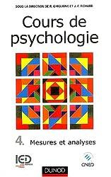 Cours de psychologie, tome 4, Mesures et analyses