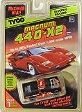 1996 TYCO 440-X2 CHEVY 1 NASTRUCK DieHard Slot Car 9161 HO Scale