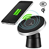 htc 8x car charger - Engilen Magnetic Wireless Car Charger Mount Wireless Charging for iPhone X/8/8 Plus Samsung Galaxy Note 8/S 8/S 8+/S 7/S Samsung S8 S8+ S8 Plus S7 S7 Edge S6 Edge Plus Note 5 Note 7 Note 8and All QI-E