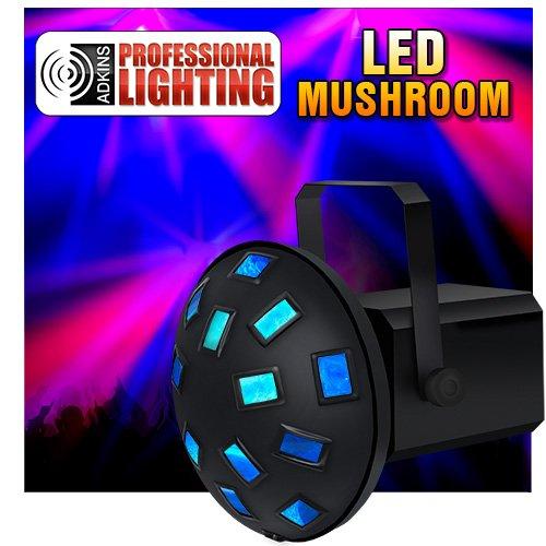 Tri Color LED Mushroom - DMX - Vertigo Tri LED - Dj Light - Stage Light