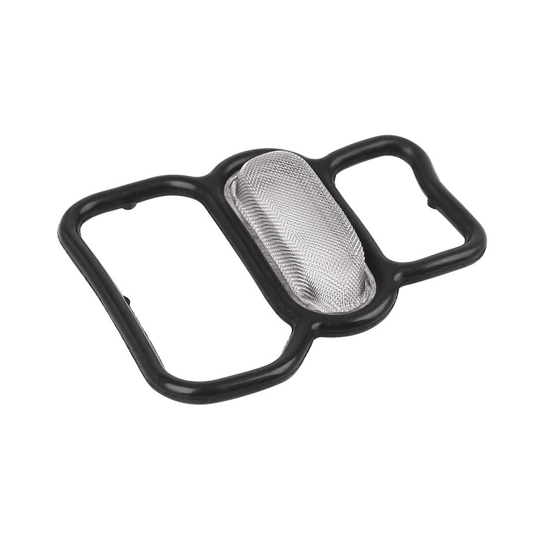 X AUTOHAUX Cylinder Head Solenoid Gasket Engine Seal Valve Filter for Honda 15825-P2M-005