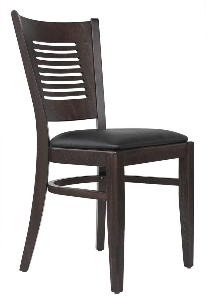 Abritus Set 2 Stühle Stuhl Buche Massivholz braun gepolstert »TG004«