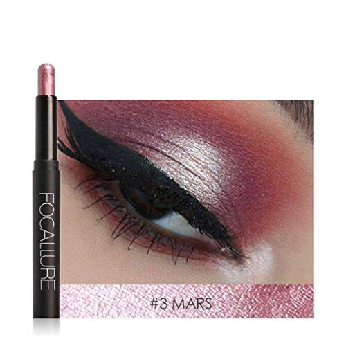 Napoo-Eyeshadow Clearance Beauty Pro Eyeshadow Pencil Cosmetic Glitter Eye Shadow Pen (C) ()