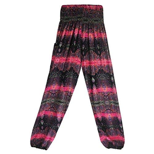 Hlhn Sportivi Pantaloni Hot Pink C Donna H5Hrwq