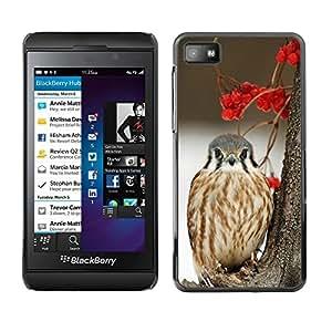 SKCASE Center / Funda Carcasa - Pájaro de la nieve del halcón presa;;;;;;;; - Blackberry Z10