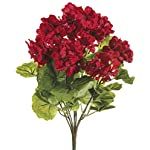 Ten-Waterloo-Red-UV-Protected-Outdoor-Artificial-Geranium-Bush-18-Tall