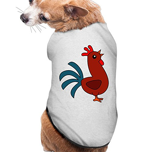 Chicken Clipart - Pet Cute Chicken Clipart Dog/cat T-Shirt Puppy Polo Clothes Outfit Apparel Coats Tops Small